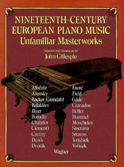 19th Century European Piano Music Partition Piano - laflutedepan