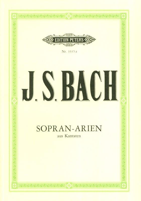 15 Airs de Cantates pour Soprano - BACH - Partition - laflutedepan.com