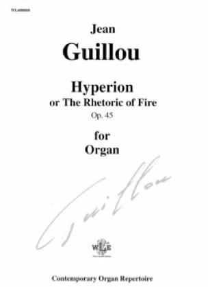 Hyperion Opus 45 - Jean Guillou - Partition - Orgue - laflutedepan.com