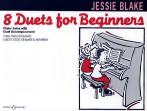8 Duets For Beginners Jessie Blake Partition Piano - laflutedepan