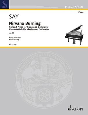 Nirvana burning op. 30 Fazil Say Partition Piano - laflutedepan