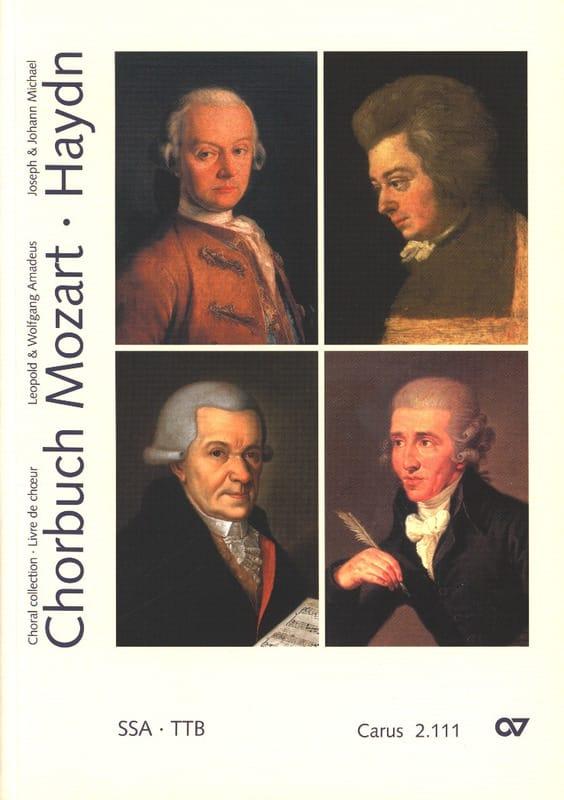 Chorbuch Volume 1. Voix Egales - MOZART / HAYDN - laflutedepan.com