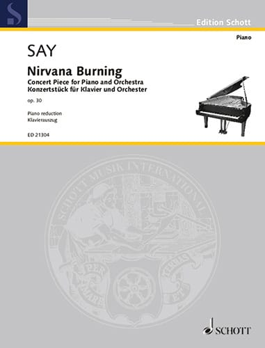 Nirvana burning op. 30 - Fazil Say - Partition - laflutedepan.com