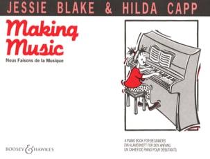 Making Music Jessie Blake Partition Piano - laflutedepan