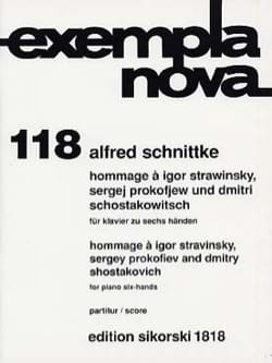 Hommage A Stravinsky, Prokofiev et Chostakovitch. 6 Mains laflutedepan