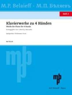 Klavierwerke Zu 4 Händen Volume 2 Partition Piano - laflutedepan