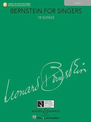 Bernstein for Singers. Ténor BERNSTEIN Partition Opéras - laflutedepan