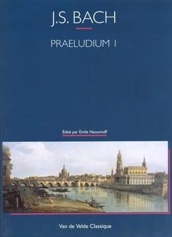 Prélude N°1 - Clavier Bien Tempéré BWV 846 BACH Partition laflutedepan