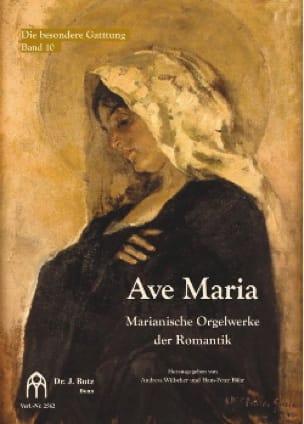 Ave Maria pour orgue - Partition - Orgue - laflutedepan.com