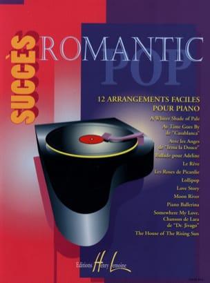 Succès Romantic Pop Partition Piano - laflutedepan