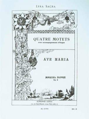 Ave Maria Opus 9-2 DUPRÉ Partition laflutedepan