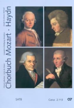 Chorbuch Volume 3. 4 Voix Mixtes MOZART / HAYDN Partition laflutedepan