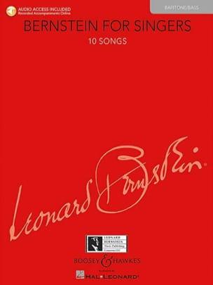 Bernstein for Singers. Baryton-Basse BERNSTEIN Partition laflutedepan