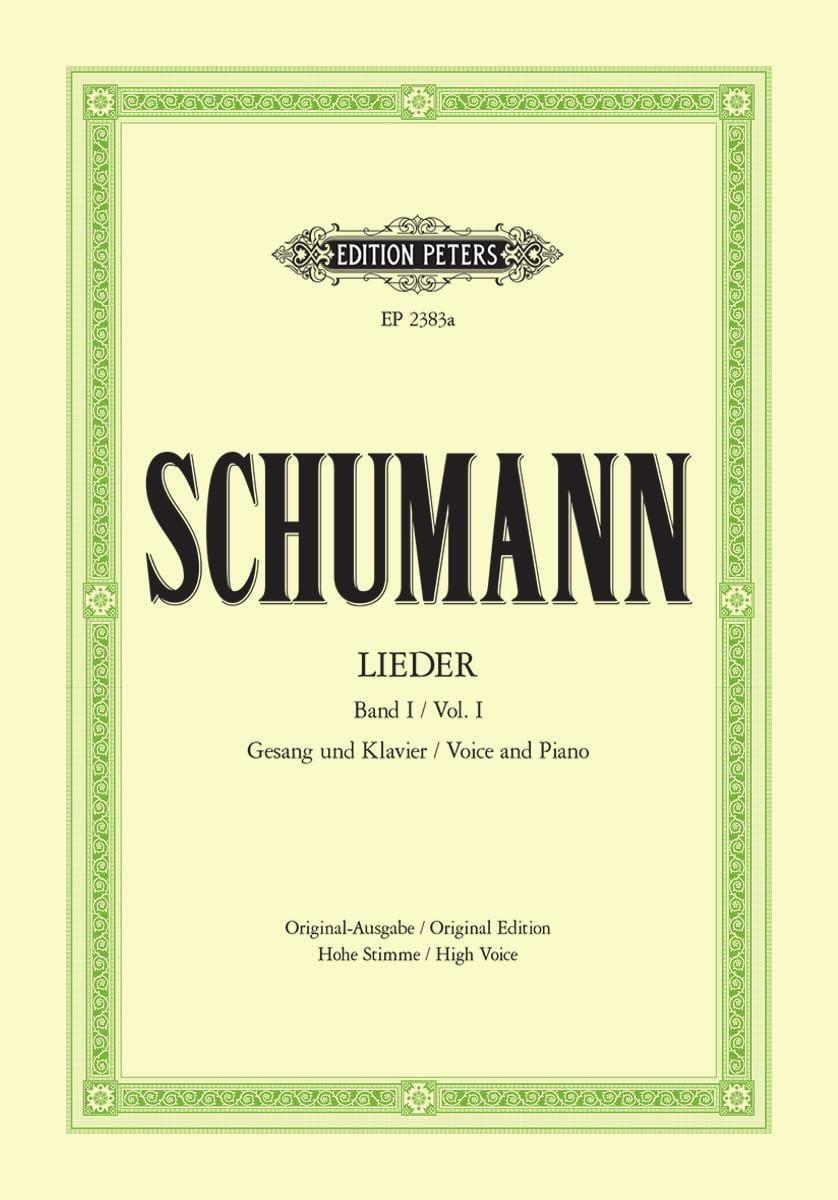 Lieder Volume 1. Voix Haute - SCHUMANN - Partition - laflutedepan.com