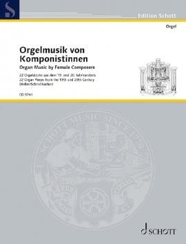 Frauen Komponieren - Partition - Orgue - laflutedepan.com