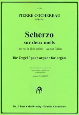 Scherzo sur 2 noëls pour orgue - Pierre Cochereau - laflutedepan.com