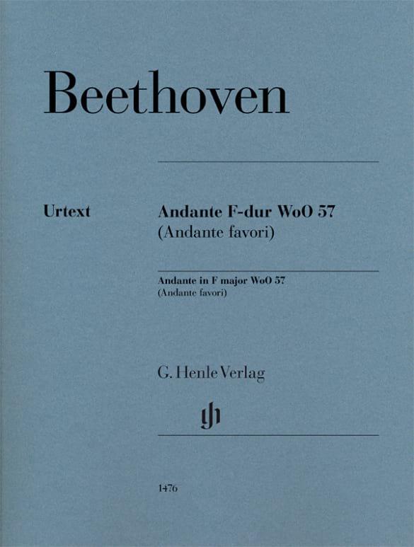 Andante en Fa Majeur WoO 57 - BEETHOVEN - Partition - laflutedepan.com