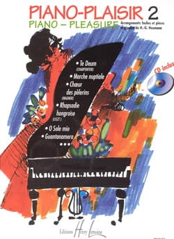 Piano-Plaisir Volume 2 Hans-Günter Heumann Partition laflutedepan