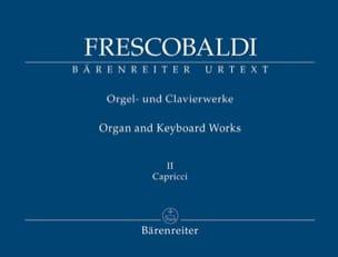 Oeuvres pour Orgue et Clavier. Volume 2 FRESCOBALDI laflutedepan