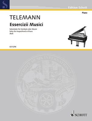 Solostücke TELEMANN Partition Clavecin - laflutedepan