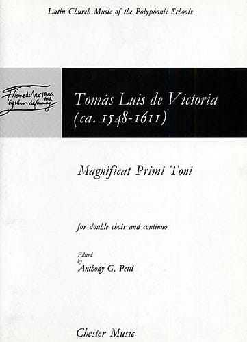 Magnificat Primi Toni - Tomas Luis de Victoria - laflutedepan.com