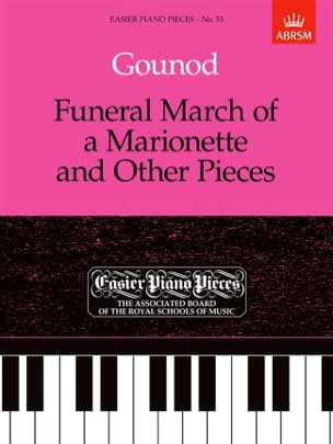 Funeral March Of A Marionette And Other Pieces GOUNOD laflutedepan