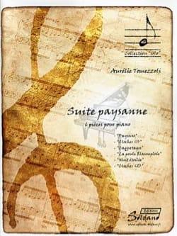 Suite paysanne Aurélie TOMEZZOLI Partition Piano - laflutedepan