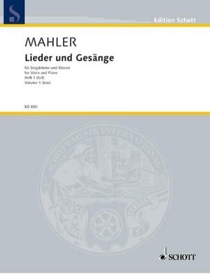 Lieder Und Gesänge Bd 1 Voix Grave MAHLER Partition laflutedepan
