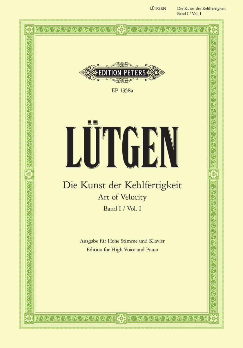 Die Kunst Der Kehlfertigkeit Volume 1. Voix Haute - laflutedepan.com