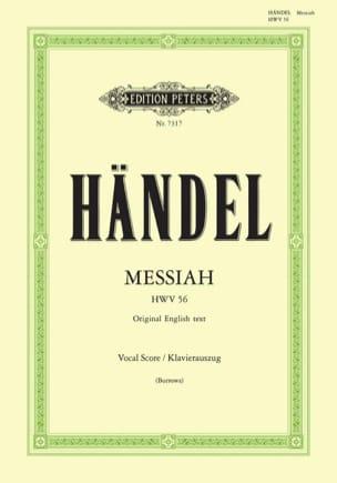 Messiah HWV 56 HAENDEL Partition Chœur - laflutedepan