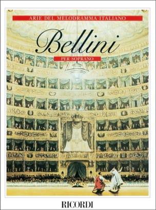 Arie Del Melodramma Italiano. Soprano BELLINI Partition laflutedepan