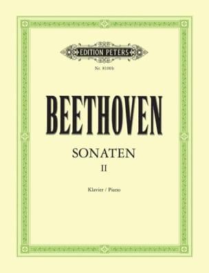 Sonates pour piano. Volume 2 BEETHOVEN Partition Piano - laflutedepan