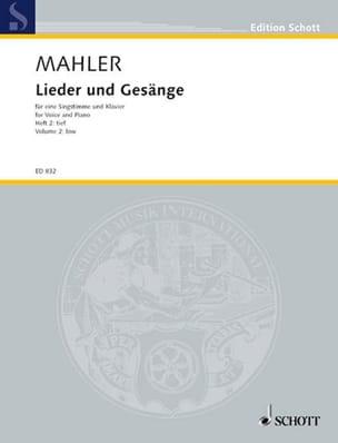 Lieder Und Gesänge Bd 2 Voix Grave - MAHLER - laflutedepan.com