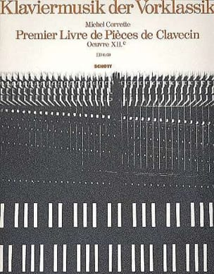 1er Livre de Pièces de Clavecin CORRETTE Partition laflutedepan