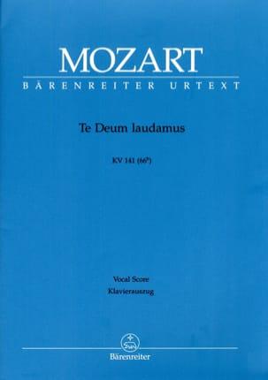 Te Deum Laudamus. K 141 Urtext Der Neuen Mozart-Ausgabe laflutedepan