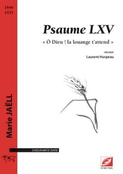 Psaume LXV Marie Jaëll Partition Chœur - laflutedepan
