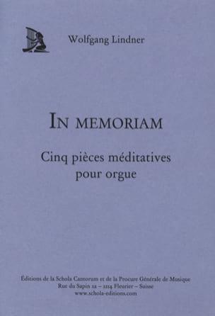 In Memoriam Wolfgang Lindner Partition Orgue - laflutedepan