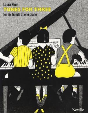 Tunes For 3 Laura Shur Partition Piano - laflutedepan