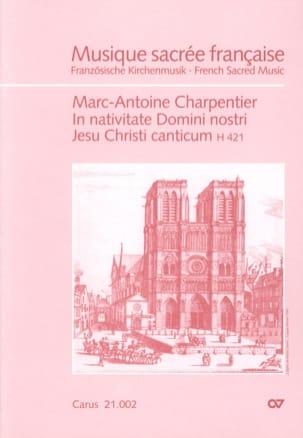In Nativitate Domini, Nostri Jesu Christi Canticum H 421. laflutedepan