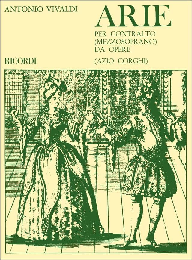 Arie Per Contralto Da Opere - VIVALDI - Partition - laflutedepan.com