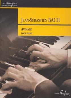 Andante Du Concerto BWV 979 BACH Partition Piano - laflutedepan