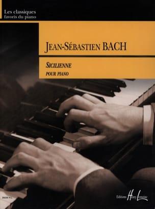 Sicilienne du Concerto BWV 596 BACH Partition Piano - laflutedepan
