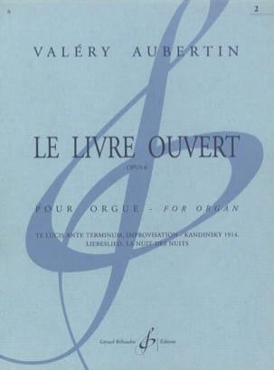 Le Livre Ouvert Opus 6 Volume 2 Valéry Aubertin Partition laflutedepan