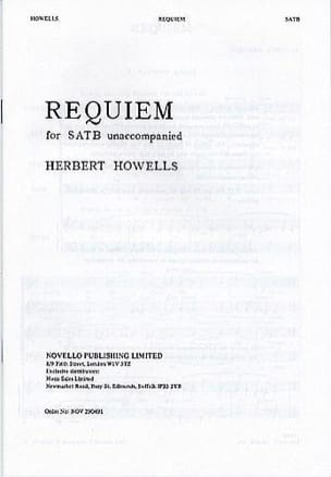Requiem Herbert Howells Partition Chœur - laflutedepan