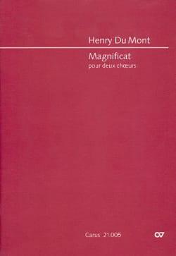 Magnificat. Conducteur Henry Dumont Partition Chœur - laflutedepan