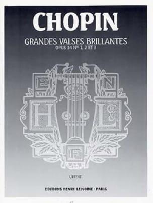 Grandes Valses Brillantes Opus 34 - CHOPIN - laflutedepan.com