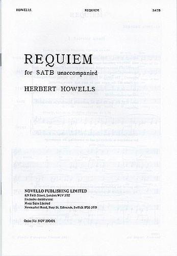 Requiem - Herbert Howells - Partition - Chœur - laflutedepan.com