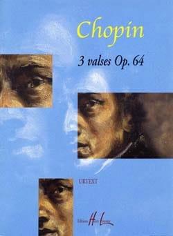 3 Valses Opus 64. CHOPIN Partition Piano - laflutedepan