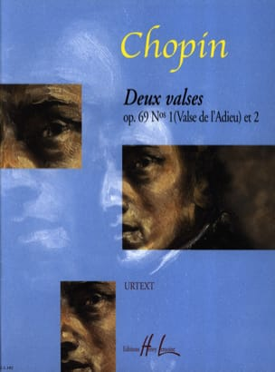 2 Valses Opus 69 Posthumes CHOPIN Partition Piano - laflutedepan