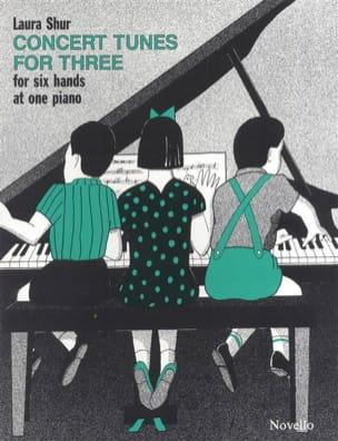 Concert Tunes For 3 Laura Shur Partition Piano - laflutedepan